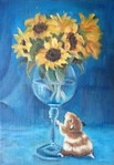 「hamster & sunflower」