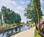 「Replication: Sisley - Moret's Roan Canal」