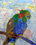 「Colorful parakeet」