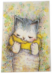 「Yellow muffler cat」