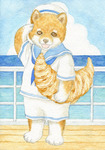 「Doggy sailor」