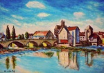 「Bridge in Moret」
