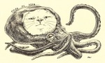 「cat in octopus」