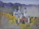 「autumn tints snd neuschwanstein castle」