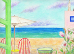 「My teatime with sea breeze」