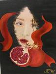 「pomegranate.」