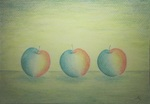 「Lined apples」