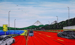 「From Saisho Bypass-Near Oiso Prince Hote」