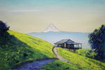 「From Mount Jinma-Fuji from Shimizu Chaya」