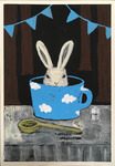 「Rabbit in a cup」