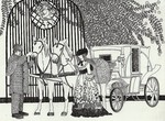 「Carriage and lady」