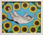 「Relax in the sunflower」