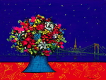 「Still life view of Tokyo Tower with fram」