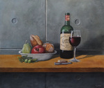 「Still life with fine wine」