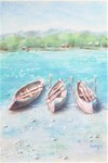 「Boats on the Lake」