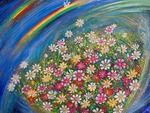 「Double rainbow & Cosmos」