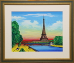 「Eiffel Tower (NO.1549) 6F with frame」