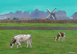 「Cow & Windmill (1/5)」