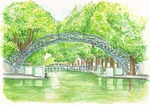 「Canal Saint Martin in May」